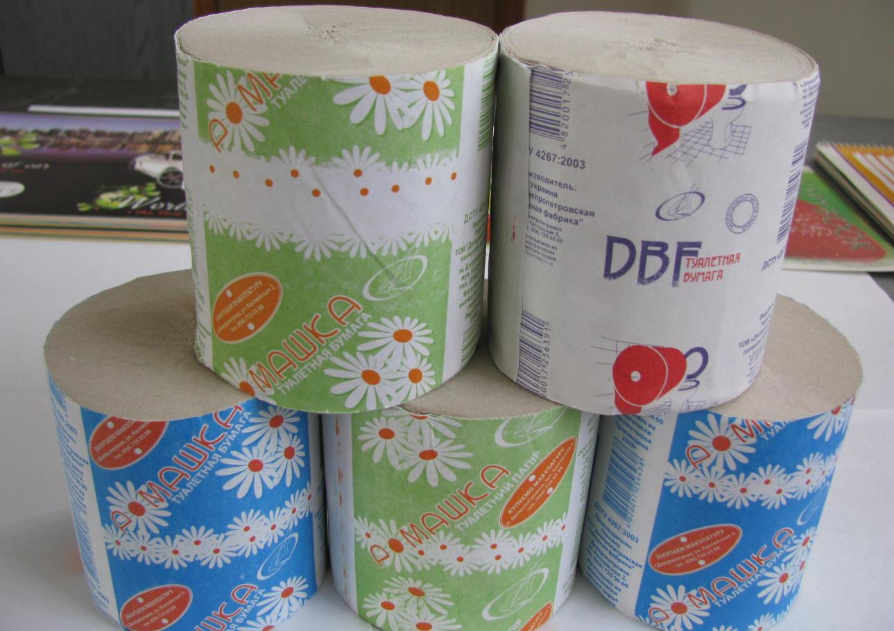 Организация сбыта туалетной бумаги