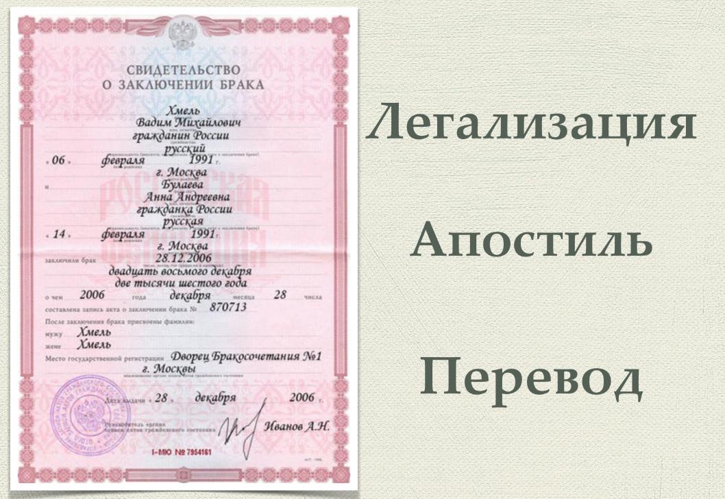 Бизнес-идея легализации документов