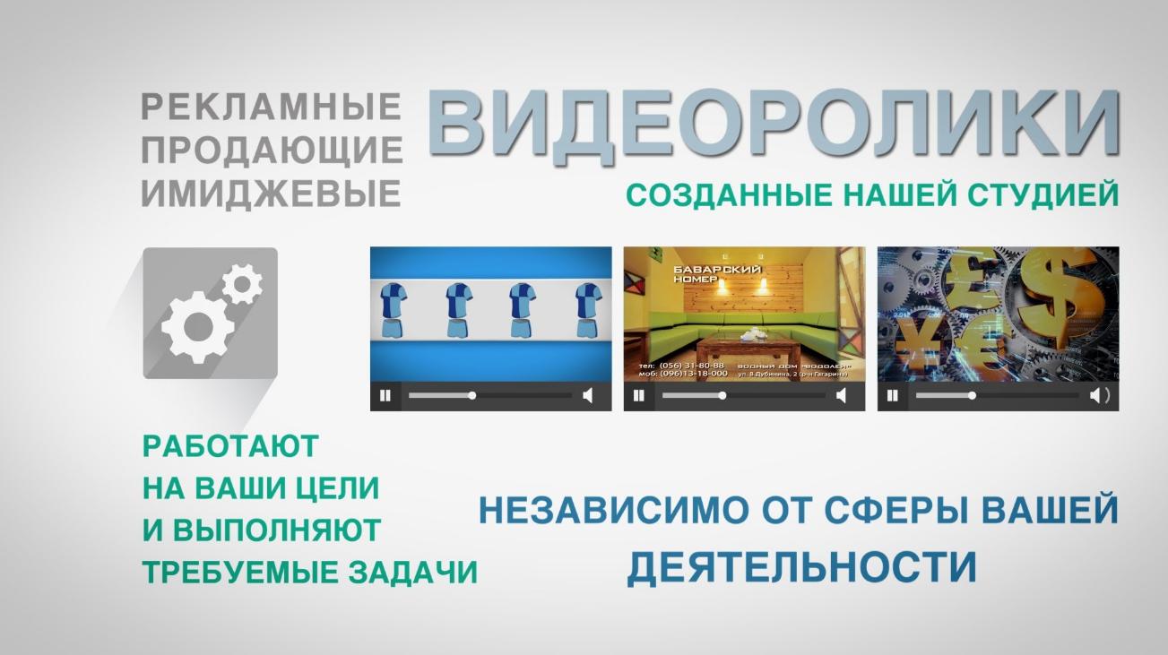 Бизнес-идея оказания услуг видеостудии