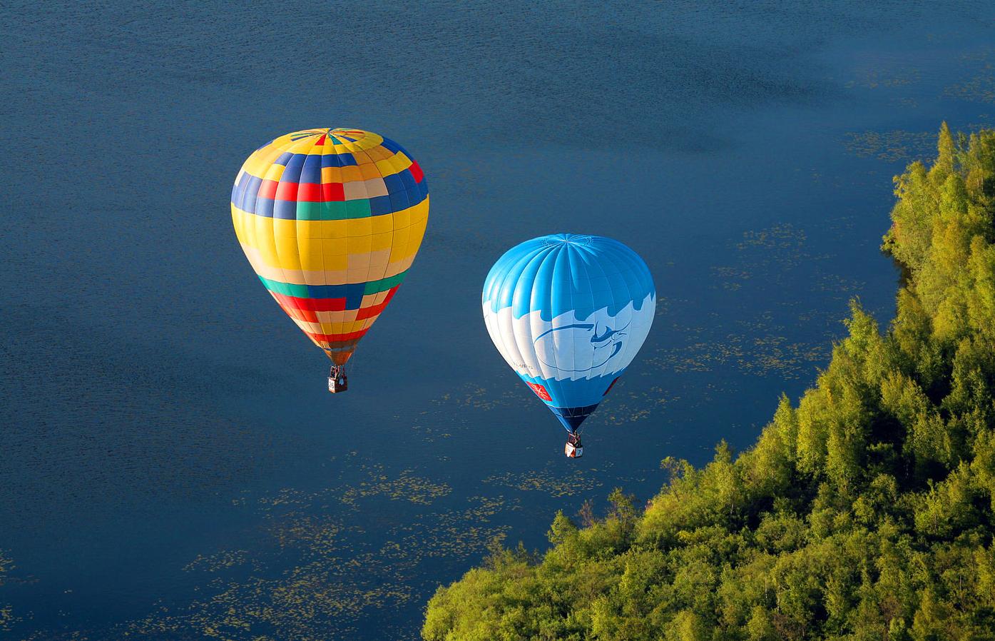 Бизнес-идея катания на воздушных шарах