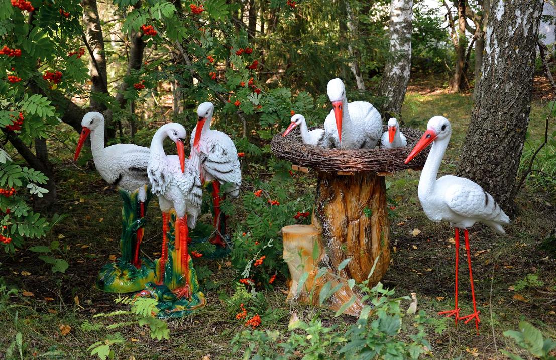 Как организовать изготовление садовых скульптур из полистоуна