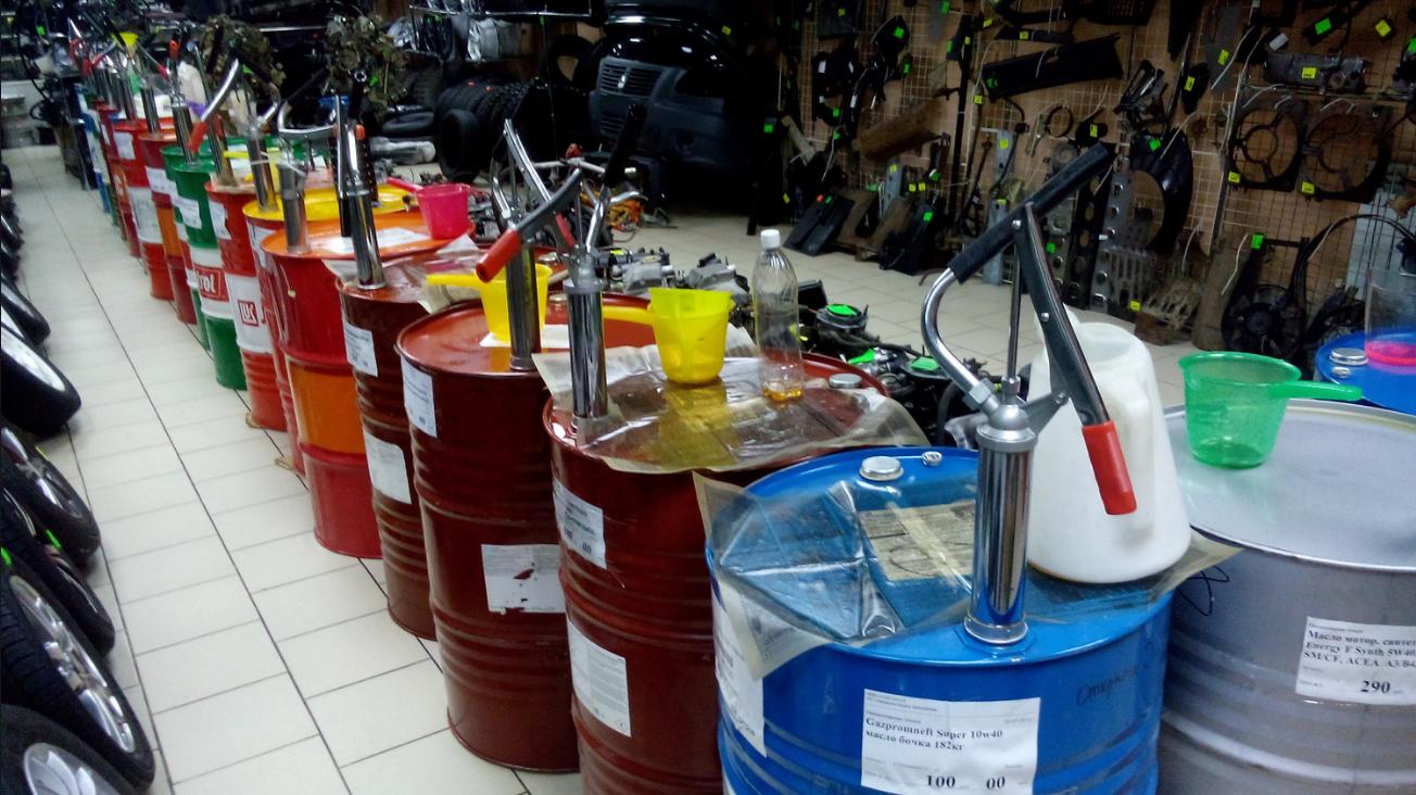 Бизнес-идея торговли моторным маслом на розлив