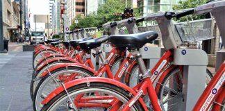 Велосипеды на стоянке