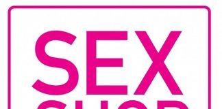 Надпись Sex shop в рамочке