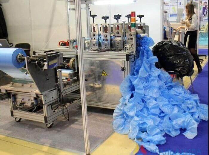 Производство бахил - 4 вида оборудования для бизнеса
